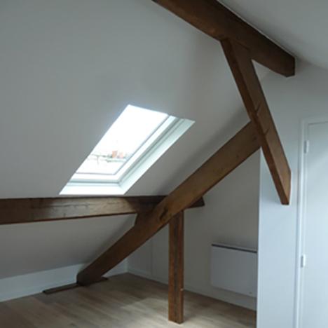 50 m² Combles