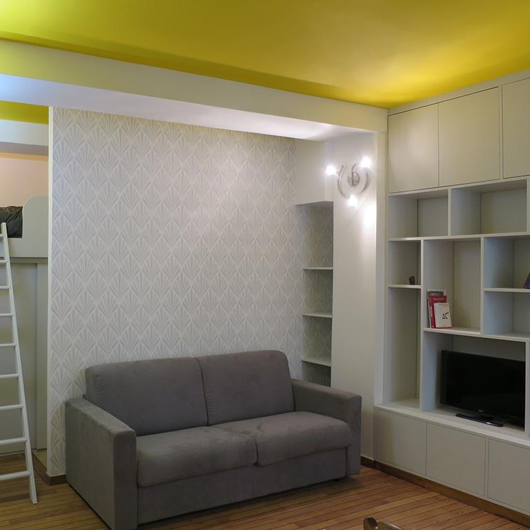 30 m² studio