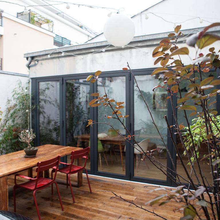 15+15 m² Extension